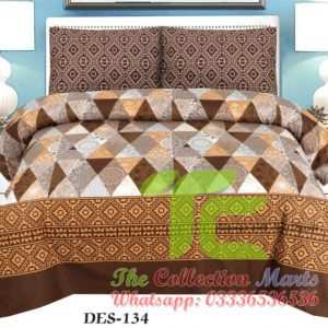 nishat bed sheets