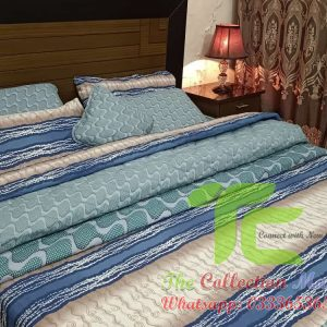 bedsheet with comforter