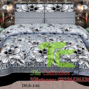 cotton double bedsheet online shopping