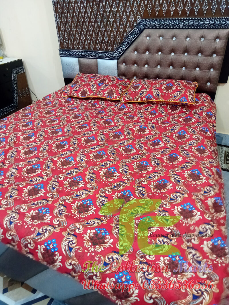 satin bed sheets in pakistan