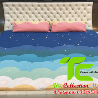 pure cotton bed sheets king size
