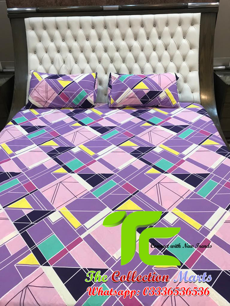 pure cotton bedsheet king size