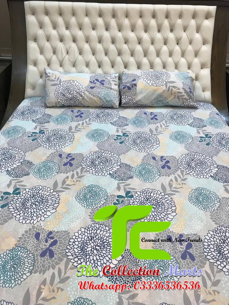 pure cotton bed sheets online