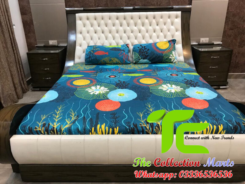 pure cotton fitted bed sheets